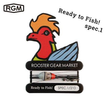 RGM(ROOSTER GEAR MARKET) RGM spec.1 仕掛け  釣り針 3本入り 川釣り  テンカラ 初心者 釣り具 フィッシング キャンプ アウトドア