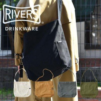 RIVERS リバーズ ショルダートートバッグ【メンズ レディース 男性 女性 キッズ 子供 かばん 斜め掛け 軽量 大きい たくさん収納 便利 かわいい おしゃれ 秋冬】