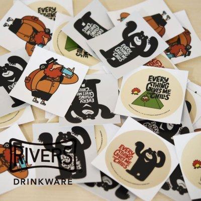 RIVERS リバーズ それがいい ステッカー【シール かわいい 可愛い おしゃれ かっこいい ブランド アウトドア】