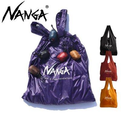 NANGA ナンガ メンズ レディース POCKETABLE ECOBAG ポケッタブルエコバッグ【レジ袋 収納 大きめ 折りたたみ 超軽量 コンパクト トートバッグ 男性 女性】