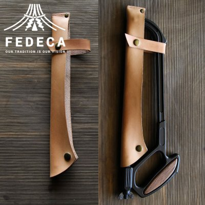 FEDECA(フェデカ) Bushcraft Saw(フ?ッシュクラフトソー) 専用レザーケース