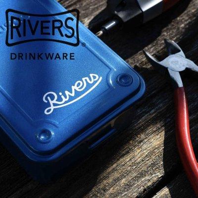 RIVERS リバーズ カッティングステッカー リバーズ【シール かわいい 可愛い おしゃれ かっこいい ブランド アウトドア】