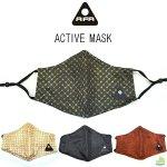 AIFA(アイファ) ACTIVE MASK マスク おしゃれ ファッション かわいい スポーツマスク フェイスマスク フェイスカバー ストレッチメッシュ 二重構造 速乾吸収