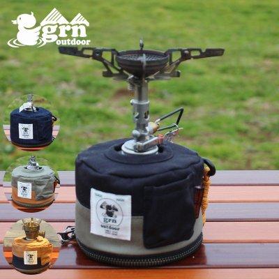 grn ジーアールエヌ HIASOBI CAMPER COVER250 ガス管カバー GO0412Q250【ガス缶 OD缶 バーナー ランタン BBQ キャンプ用品 outdoor アウトドア】