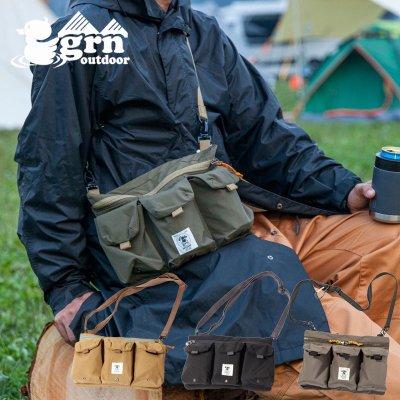 grn ジーアールエヌ TEBURA BAG WANCAN メンズ・レディース 手ぶら ショルダーバッグ GO9414Q【かばん ウエストバッグ キャンプ用品 outdoor アウトドア】