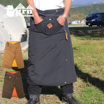 grn ジーアールエヌ 60/40 MAKU BLANKET メンズ・レディース 焚き火 ウェア ブランケット GO9428Q【防寒着 前掛け 毛布 キャンプ用品 outdoor アウトドア】
