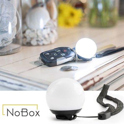 NOBOX ノーボックス ミニグローブライト 20237008【照明 軽量 コンパクト 充電式 USB 防災ランプ 防災グッズ 防災用品 ランニング キャンプ用品 アウトドア】