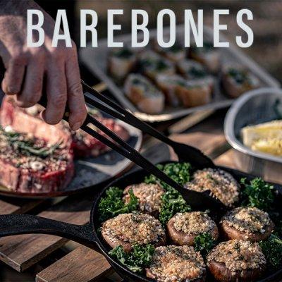 Barebones Living ベアボーンズ リビング カウボーイグリル トング 20235509【ステンレス 料理 食器 調理器具 BBQ たき火 焚き火 焚火 キャンプ アウトドア】