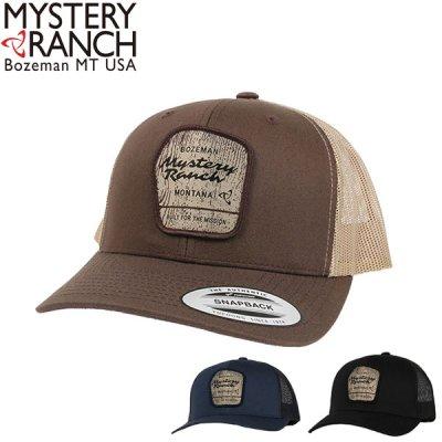 MYSTERY RANCH ミステリーランチ ウィルダネストラッカー メンズ キャップ 19761415【帽子 メッシュ ジョギング ランニング キャンプ用品 アウトドア】