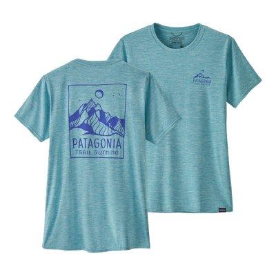 patagonia(パタゴニア) ウィメンズ・キャプリーン・クール・デイリー・グラフィック・シャツ レディース 半袖Tシャツ