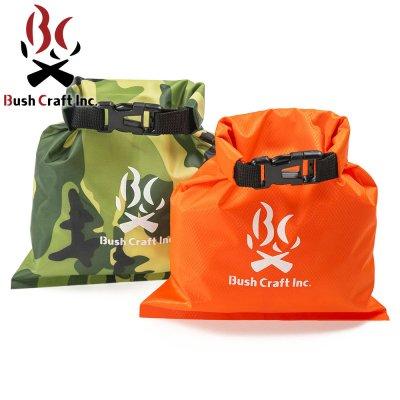 BushCraftInc. ブッシュクラフト ドライバッグ 2L【防水バッグ かばん 小物入れ コンパクト 軽量 軽い 携帯 収納袋 防災グッズ 釣り キャンプ用品 アウトドア】