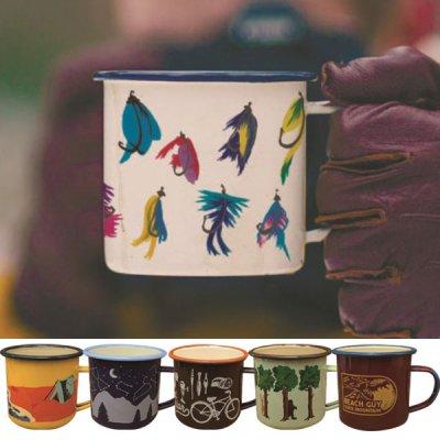 BGGM VINTAGE MUG ヴィンテージマグ ホーロー エナメル【マグカップ タンブラー 保温 保冷 コーヒー コップ グラス 軽量 ブランド キャンプ用品 アウトドア かわいい おしゃれ】