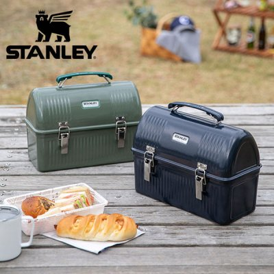 STANLEY スタンレー クラシックランチボックス 9.4L 01625【調理道具入れ ツールボックス 収納ボックス 収納ケース 大型 工具箱 キャンプ用品 アウトドアギア DIY おしゃれ】