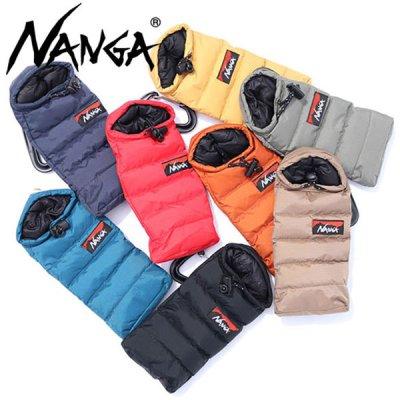 NANGA ナンガ オーロラミニスリーピングバック型携帯ケース カラビナ、アジャスター付き【携帯ケース 収納ケース おしゃれ かわいい キャンプ用品 アウトドア】