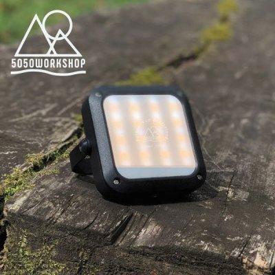 50/50 WORKSHOP HiLUMEN mini ハイルーメンミニ ランタン LEDライト モバイルバッテリー TR9-5WS【防災ランプ 照明 キャンプ用品 ソロキャンプ アウトドアギア】