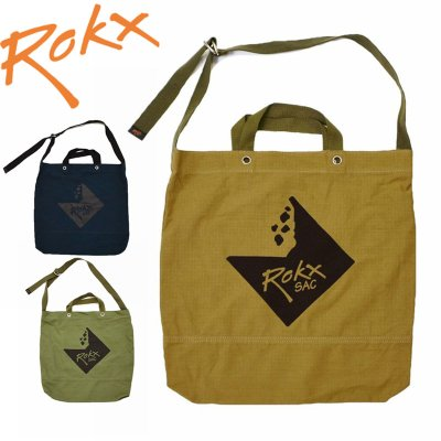 ROKX ロックス メンズ・レディース SAC ROKX TOTE サック アイコン2WAYトート RXAFROK006【バッグ かばん 登山 キャンプ用品 ソロキャンプ アウトドア】