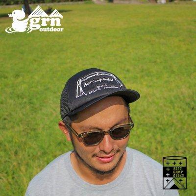 grn ジーアールエヌ BCG MESH CAP キャップ JRDGO-200【イソガイ ヒトヒサ×JRD by JARLD×grn outdoorコラボ 帽子 キャンプ用品 アウトドアウェア】