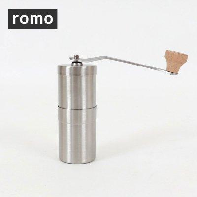 ROMO ロモ coffee mill wood R-551139【ハンドミル 器具 コーヒー豆 珈琲 コンパクト 軽量 軽い 焚き火 登山 BBQ キャンプ用品 ソロキャンプ アウトドアギア】