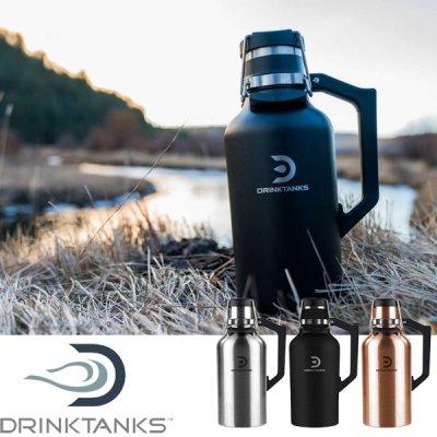 DrinkTanks ドリンクタンクス 64oz(1.9L) Growler2.0