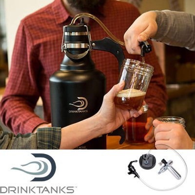 DrinkTanks ドリンクタンクス Keg Cap Accessory Kit 00-KCAP-G【グラウラー アクセサリー ビアサーバー ビールサーバー 炭酸 BBQ キャンプ アウトドア】