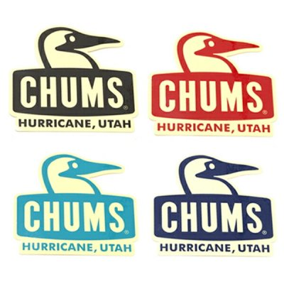 CHUMS チャムス Sticker Booby Face ステッカーブービーフェイス