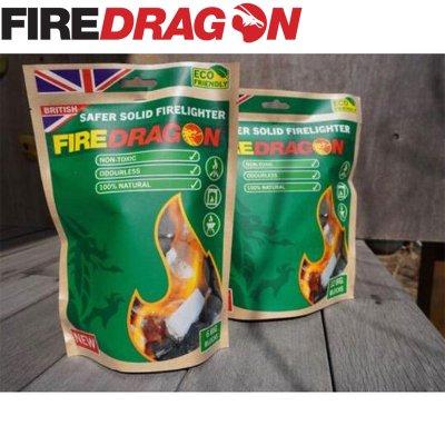 FireDragon ファイヤードラゴン Fuel Blocks/固形燃料6個セット【BBQ ソロキャンプ アウトドア BCB international】