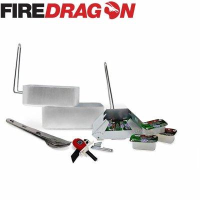 FireDragon ファイヤードラゴン Outdoor Cooking Set/アウトドアクッキングセット【BBQ ソロキャンプ アウトドア BCB international】