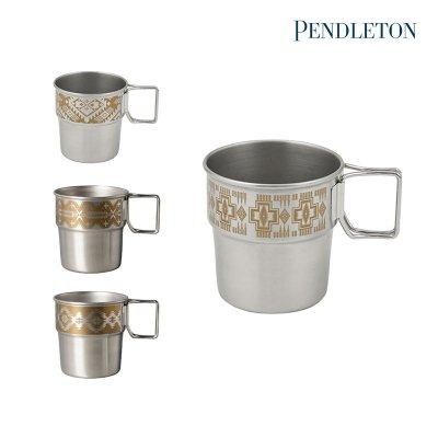 PENDLETON ペンドルトン Stailess Stacking Mug/ステンレススタッキングマグ YK104【マグカップ タンブラー 保温 保冷 BBQ ソロキャンプ アウトドグッズ】