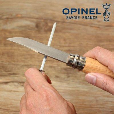 OPINEL オピネル ナイフシャープナー 41504【ナイフ研ぎ コンパクト ソロキャンプ アウトドアギア】