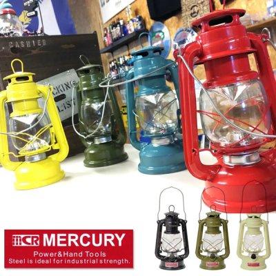 MERCURY マーキュリー ハリケーンランタン【MCR LEDランタン LEDライト BBQ ソロキャンプ キャンプ用品 アウトドア用品】
