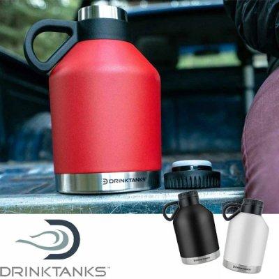 DrinkTanks ドリンクタンクス 32oz(0.94L)Session Growler/セッショングラウラー SSN-32【真空断熱 水筒 BBQ ソロキャンプ アウトドア用品】