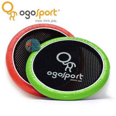 OgoSport オゴスポーツ オゴディスク ミニ(OGODISK MINI)ピュアレッド/ライトグリーン ディスク2枚+ボール1個