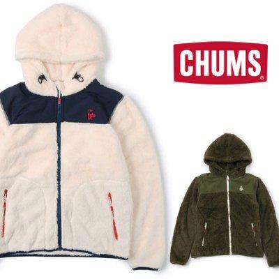 CHUMS チャムス Elmo(エルモ) フリースフルジップパーカー メンズ・レディース アウター フリース