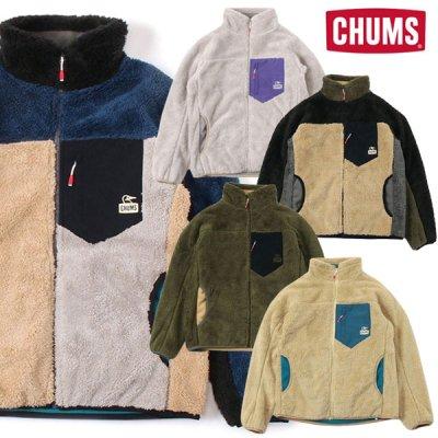 CHUMS チャムス ボンディング フリースジャケット メンズ・レディース アウター フリース パーカー