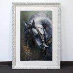 Horse Persian Carpet 71-47