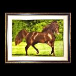 Horse Persian Carpet 86-64