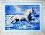 Horse Persian Carpet 78-56