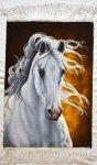 Horse Persian Carpet 70-48
