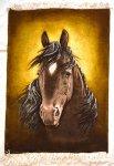 Horse Persian Carpet 70-50