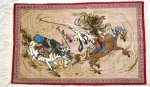 Horse Persian Carpet 122-77