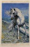 Horse Persian Carpet 94-65
