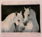 Horse Persian Carpet 45-65