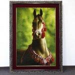 Horse Persian Carpet 102-71