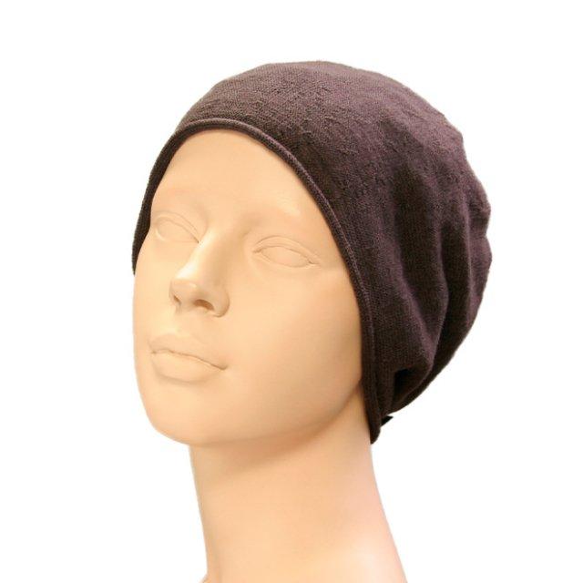 抗がん剤保護帽子:ウールワッチ