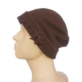 医療用帽子:ステッチコットンシャロット