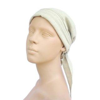 医療用帽子:オーガニックコットンバンダナ