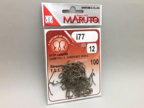 タイイング(毛鉤製作) フライフック(沈める系)-マルト フライフック i77 #12 100本入り(ストリーマー用)