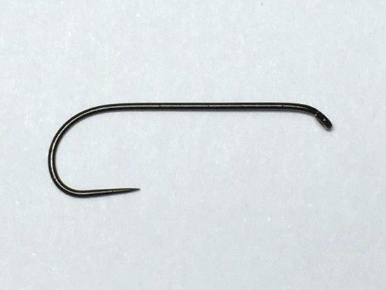 タイイング(毛鉤製作) フライフック(バーブレス)-マルト フライフック d21 #8 100本入り(ドライ・バーブレス・ロング)