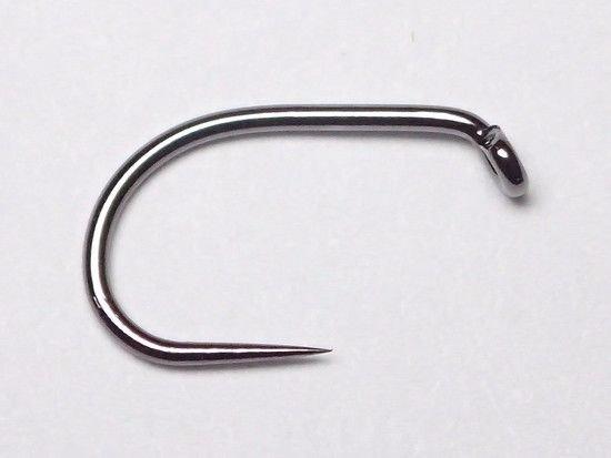 タイイング(毛鉤製作) フライフック(バーブレス)-マルト フライフック g22BLBT #10 100本入り(ニンフ・エッグ用バーブレス)