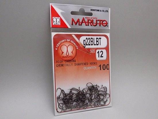 タイイング(毛鉤製作) フライフック(バーブレス)-マルト フライフック g22BLBT #12 100本入り(ニンフ・エッグ用バーブレス)